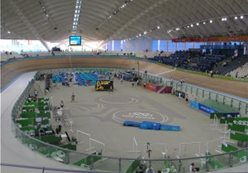 Training camp at the Velodrome in Olympic Stadium