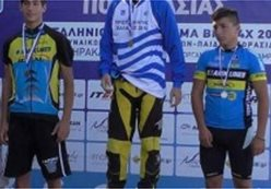 Spectacular in the National Championship BMX-4X in Melesses Heraklion